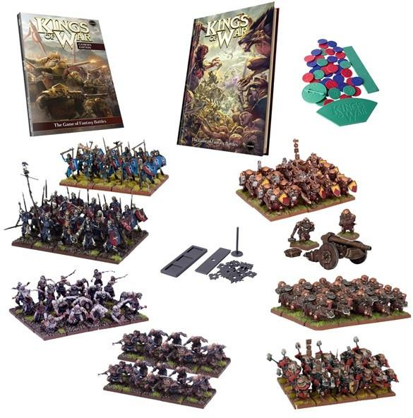 Kings of War: Mega 2 Player Starter Set