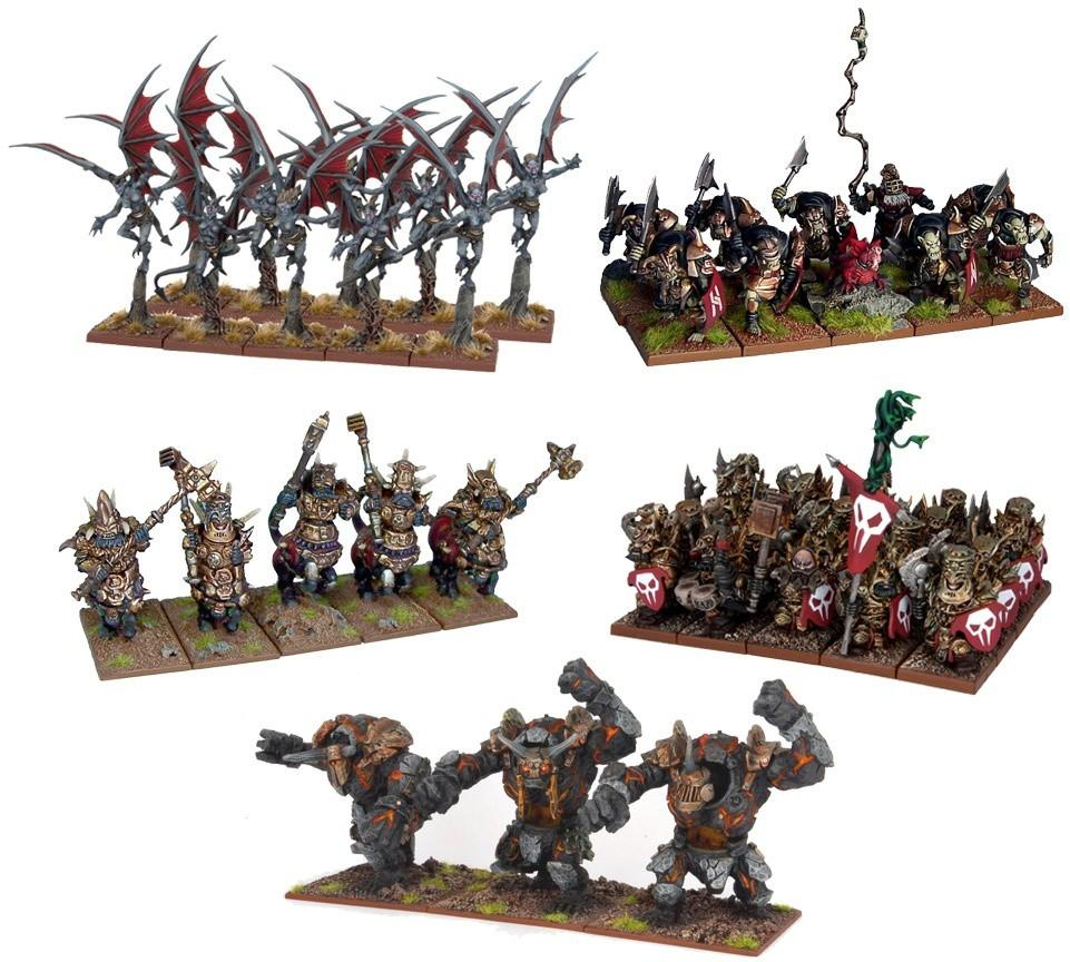 Kings of War: Abyssal Dwarf Starter Force