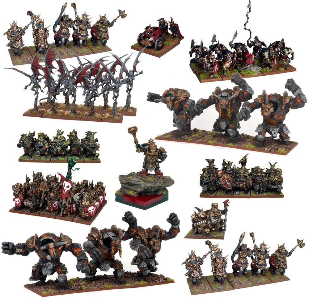 Kings of War: Abyssal Dwarf Mega Force