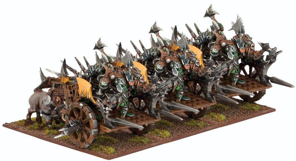 Kings of War: Orc Fight Wagon Regiment