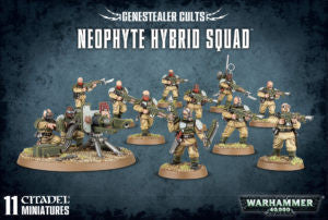 GENESTEALER CULTS NEOPHYTE HYBRID SQUAD DICEHEADdotCOM
