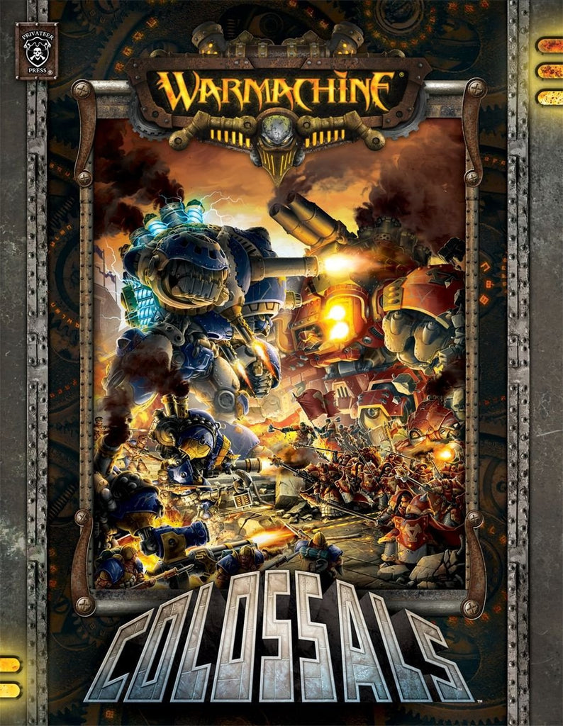 Warmachine Colossals Hardcover Rulebook WEB