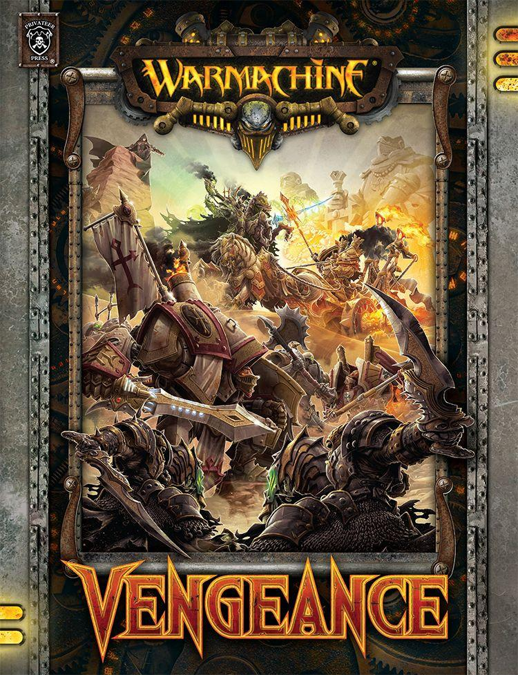 Warmachine Vengeance Hardcover Rulebook WEB