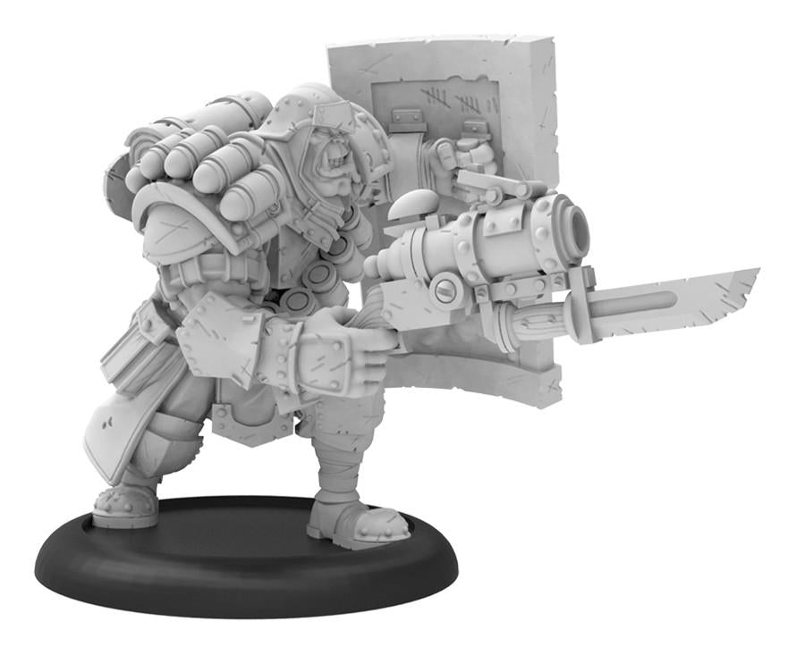 Warmachine Cygnar Trench Buster Solo (resin & white metal) WEB