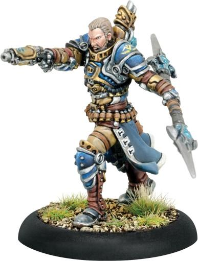 Warmachine Cygnar  Commander Dalin Sturgis Warcaster (metal) WEB