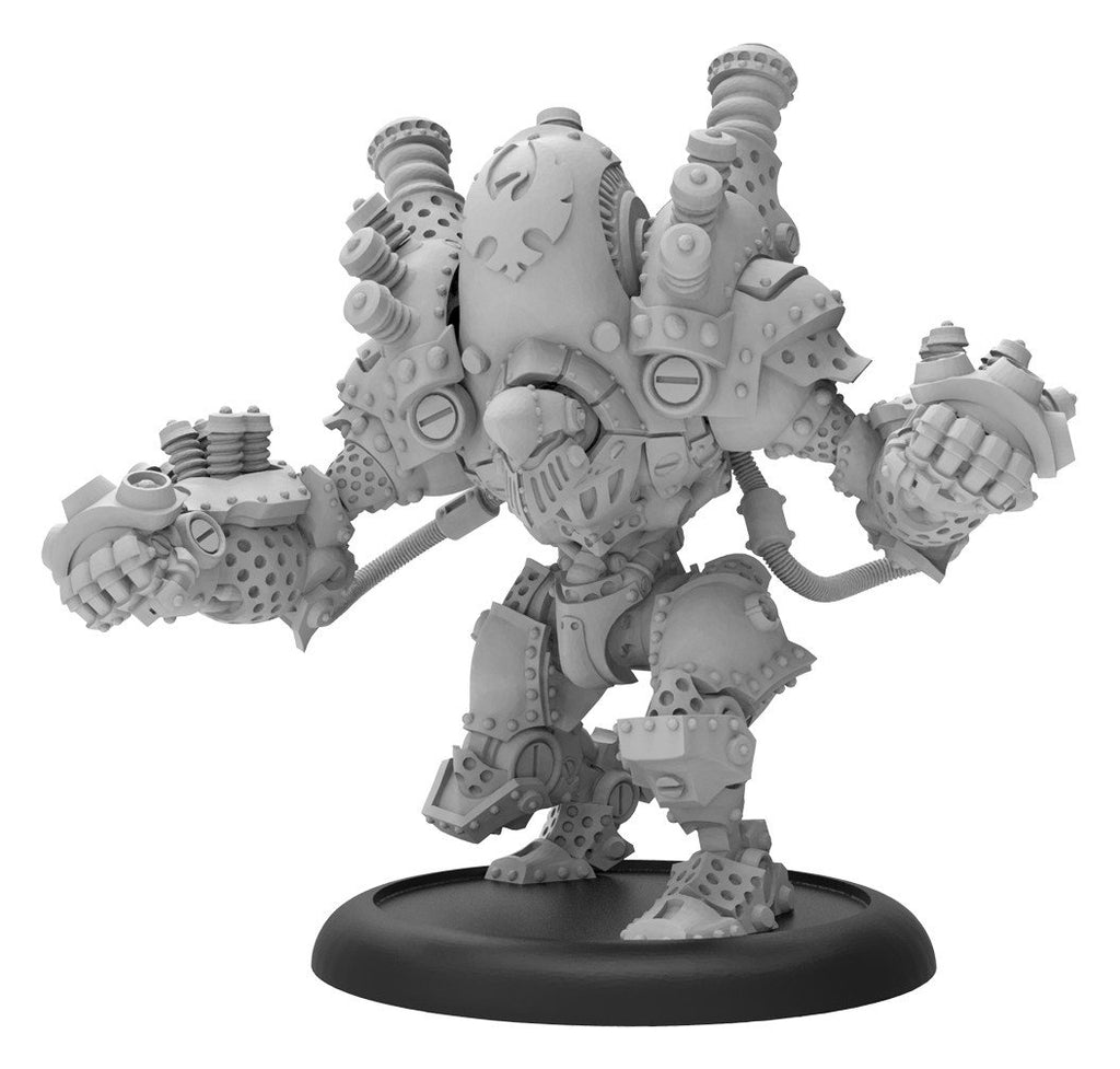 Warmachine Cygnar  Thunderhead Character Heavy Warjack Box (resin & white metal) WEB