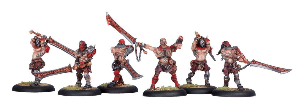 Warmachine Khador Doom Reavers Unit Box WEB