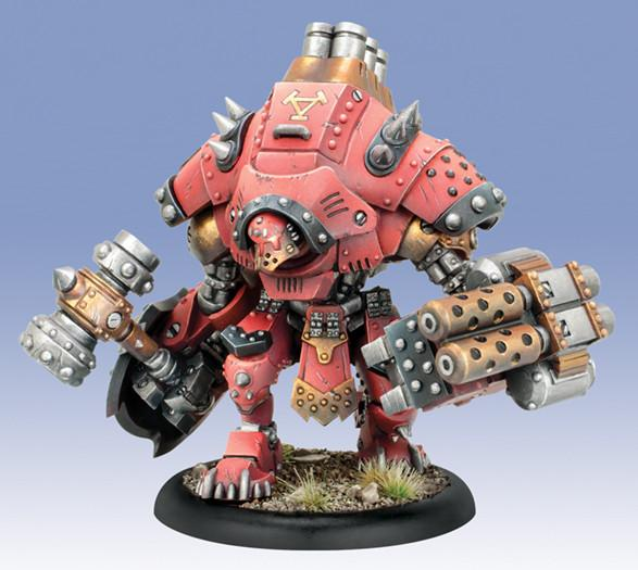 Warmachine Khador Grolar/Kodiak Heavy Warjack Kit Plastic Box WEB