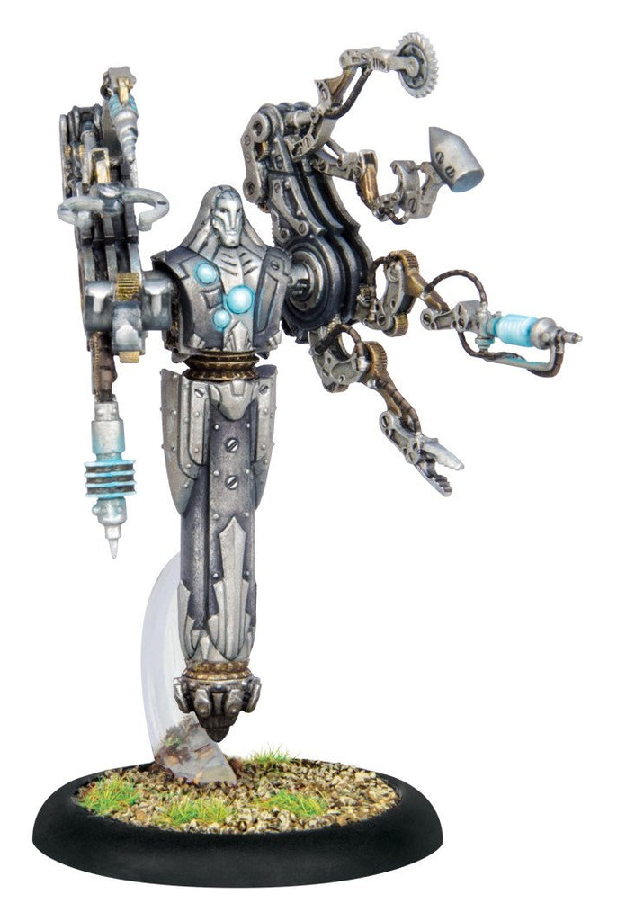 Warmachine Convergence Forge Master Syntherion Warcaster  WEB