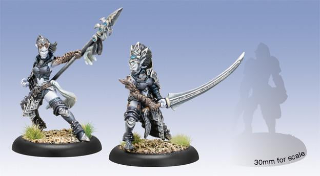 Hordes Legion of Everblight Saeryn & Rhyas Talons of Everblight Epic Blighted Nyss Warlock Unit (2)