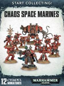 START COLLECTING! CHAOS SPACE MARINES  DICEHEADdotCOM