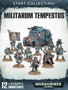 Astra Militarum START COLLECTING! MILITARUM TEMPESTUS  DICEHEADdotCOM