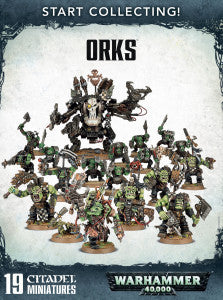 START COLLECTING! ORKS  DICEHEADdotCOM