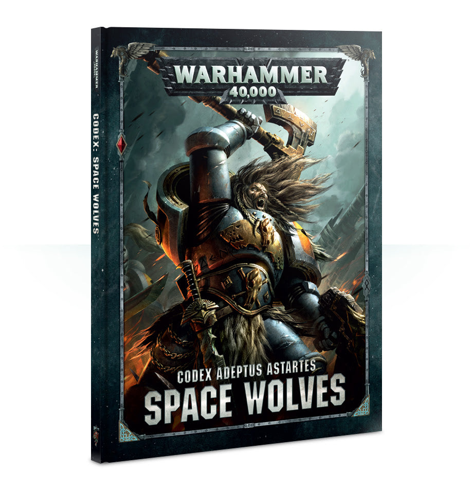 CODEX SPACE WOLVES 2018 PRE-ORDER DICEHEADdotCOM