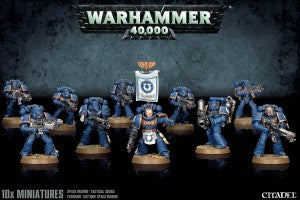 Space Marine Tactical Squad 2015  DICEHEADdotCOM