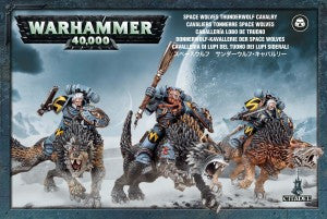 Space Wolves Thunderwolf Cavalry DICEHEADdotCOM