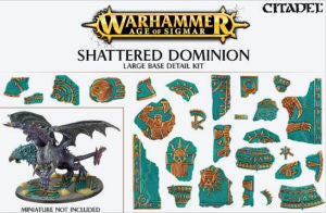 CITADEL AOS SHATTERED DOMINION LARGE BASE DETAIL  DICEHEADdotCOM