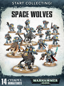 START COLLECTING! SPACE WOLVES  DICEHEADdotCOM
