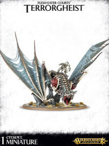 Armies of Death Flesh Eater Courts Terrorgheist / Zombie Dragon  DICEHEADdotCOM
