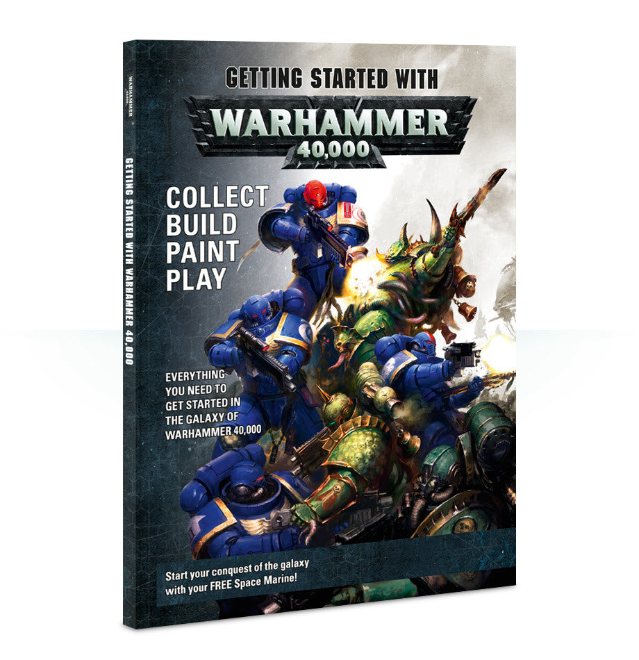 GETTING STARTED WITH WARHAMMER 40K DICEHEADdotCOM