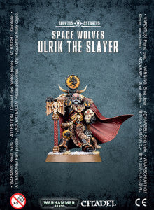SPACE WOLVES ULRIK THE SLAYER DICEHEADdotCOM