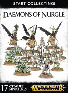 Nurlge Rotbringers START COLLECTING! DAEMONS OF NURGLE  DICEHEADdotCOM