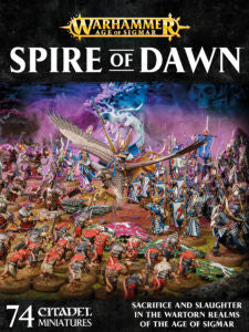 Age of Sigmar Spire of Dawn SPECIAL ORDER DICEHEADdotCOM