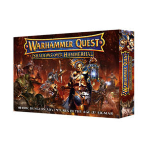 Warhammer Quest Shadows over Hammerhal (ADD $3 S&H) DICEHEADdotCOM