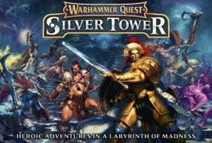 Warhammer Quest Silver Tower (ADD $3 S&H) DICEHEADdotCOM