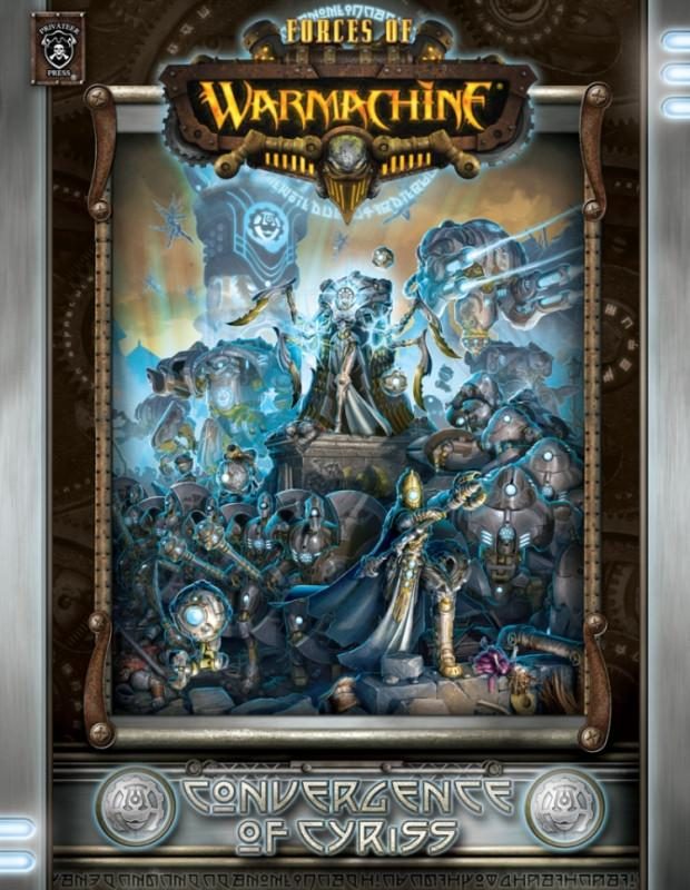 Warmachine Convergence of Cyriss Hardcover Rulebook WEB
