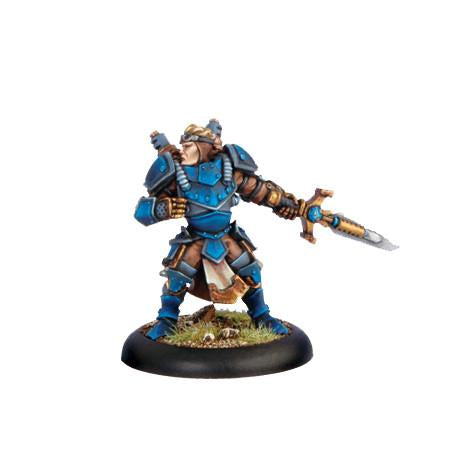 Warmachine Cygnar Journeyman Warcaster WEB