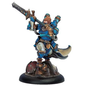 Warmachine Cygnar Epic Warcaster Lord Commander Stryker WEB