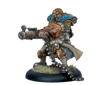 Warmachine Cygnar Captain Maxwell Finn WEB