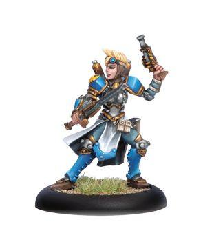 Warmachine Cygnar Journeymen Warcaster Alternate Pose WEB