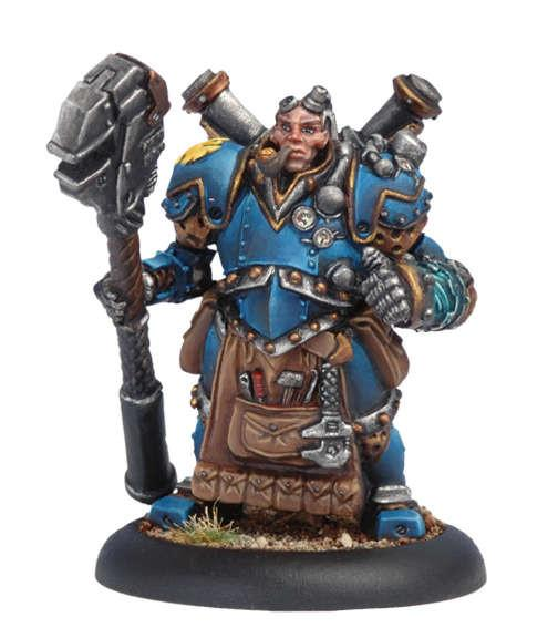 Warmachine Cygnar Captain Arlen Strangewayes WEB