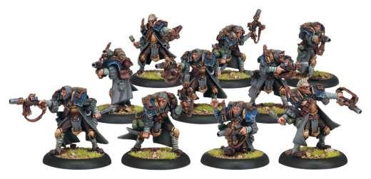 Warmachine Cygnar Trencher Commandos Unit Box WEB