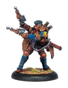 Warmachine Warcaster Lt. Allister Caine WEB