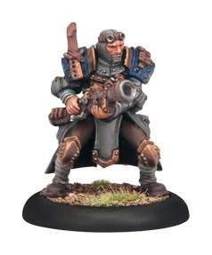 Warmachine Cygnar Trencher Commando Scattergunner WEB