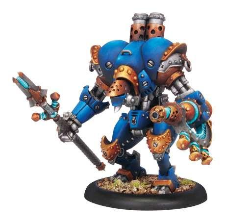 Warmachine Cygnar Firefly PLASTIC Light Warjack Box WEB