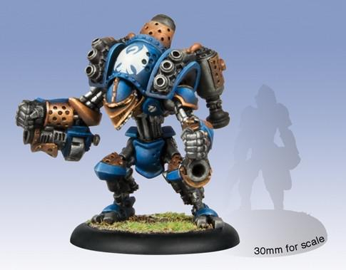 Warmachine Cygnar Minuteman Light Warjack WEB