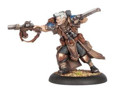 Warmachine Cygnar Captain Jonas Murdoch WEB