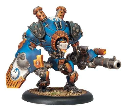 Warmachine Cygnar Triumph Character Heavy Warjack Upgrade Kit WEB
