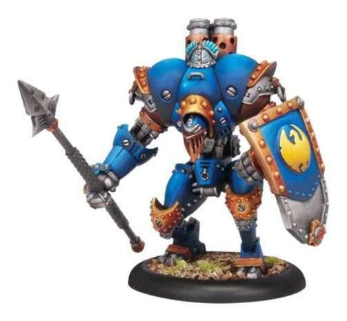 Warmachine Cygnar Lancer PLASTIC Light Warjack Box WEB