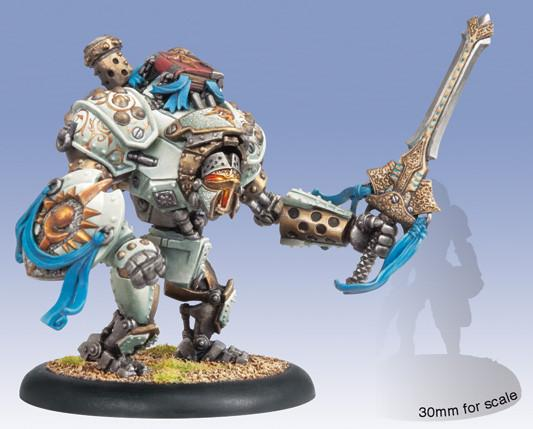Warmachine Cygnar Gallant Heavy Warjack Upgrade Kit WEB