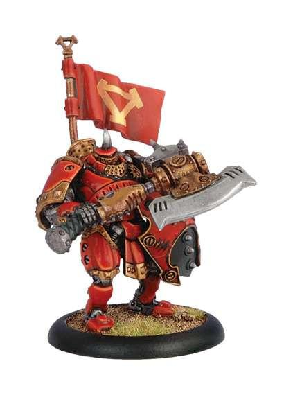 Warmachine Khador Man-O-War Kovnik WEB