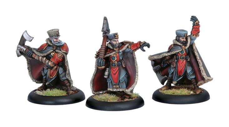 Warmachine Khador Greylords Ternion WEB