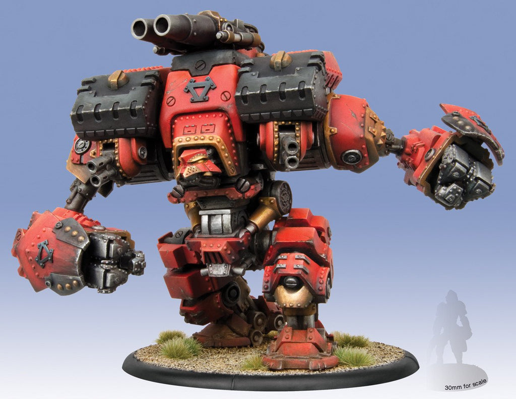 Warmachine Khador Conquest Colossal (resin & metal) Box WEB