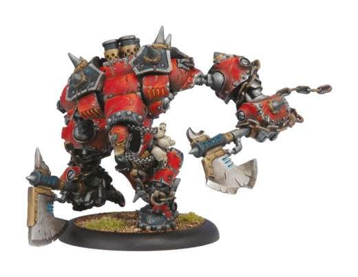 Warmachine Khador Drago Heavy Warjack Box WEB