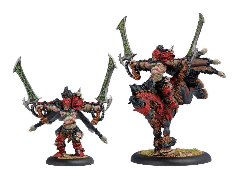Warmachine Khador Fenris Character Dragoon Box WEB
