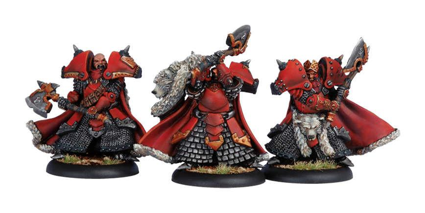 Warmachine Khador Great Bears of Gallowsood Character Unit Box WEB